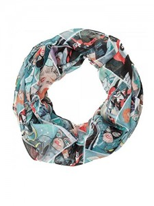 Подарок Шарф Bioworld 'Batman Harley, Ivy, Cat Woman Infinity Viscose Scarf' (SF3P2TBTM)