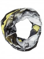 Подарок Шарф Bioworld 'Batman logo on black and white all over infinity scarf' (SF3P2RBTM)