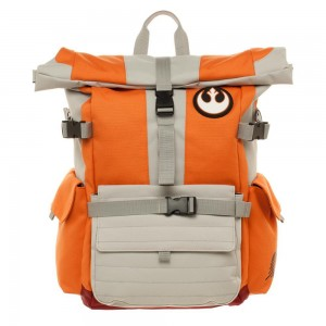 Рюкзак Bioworld 'Star Wars Rebel Pilot Roll Top Backpack' (BP5B9KSTW)