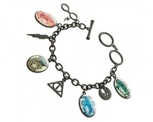 Подарок Браслет Bioworld 'Harry Potter - charm bracelet' (BV3R8THPT)