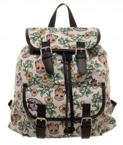 Рюкзак Bioworld 'Guardians of The Galaxy Groot and Rocket Knapsack Backpack' (KQ5ESDGGC)