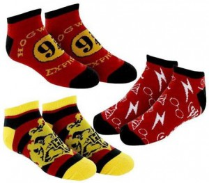Подарок Носки Bioworld 'Harry Potter Ankle Socks Juniors 3 Pack' (XS479HHPT)