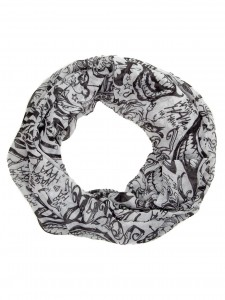 Подарок Шарф Bioworld 'DC Comics Suicide Squad Allover Joker Tattoo Infinity Scarf' (SF4C2WSSQ)