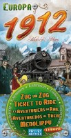 Настольная игра Ticket to Ride Europe 1912 Expansion (7211) дополнение