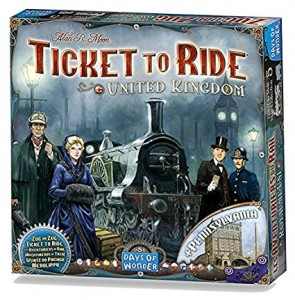 Настольная игра Ticket to Ride: United Kingdom Map Collection (720123) дополнение