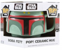 Подарок Кружка Funko POP! Home 'Star Wars - Boba Fett Ceramic Mug' (7799)