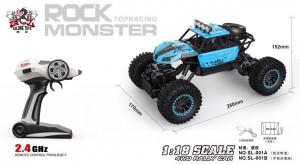 фото Автомобиль на р/у Sulong Toys 'Off-Road Crawler - Super Sport' (голубой, 1:18) #4
