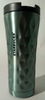 Подарок Термокружка Starbucks 3D, зеленая, 500 мл