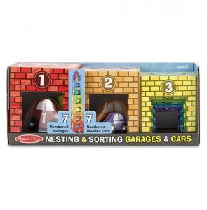 фото игрушки Набор блоков-кубов Melissa & Doug  'Автомобили и гаражи' (MD12435) #2