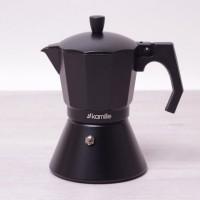 Кофеварка гейзерная Kamille с широким индукционным дном 300 мл (KM2512)