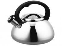 Подарок Чайник Kamille 2.9 л из нержавеющей стали со свистком (KM0680B)