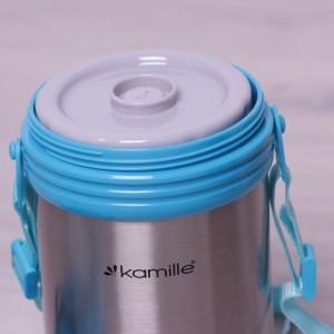 фото Термос пищевой Kamille 2л  из нержавеющей стали (KM2101) #7