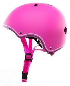 Шлем защитный детский GLOBBER розовый XS (3429325001108)
