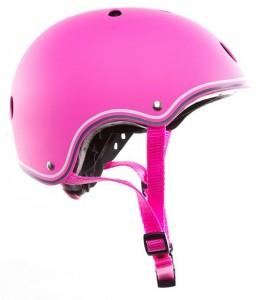 фото Шлем защитный детский GLOBBER розовый XS (3429325001108) #4