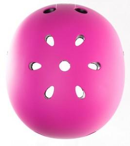 фото Шлем защитный детский GLOBBER розовый XS (3429325001108) #5