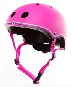 фото Шлем защитный детский GLOBBER розовый XS (3429325001108) #2