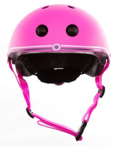 фото Шлем защитный детский GLOBBER розовый XS (3429325001108) #3