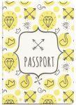 Подарок Обложка для паспорта ZIZ 'Hipster' (10093)