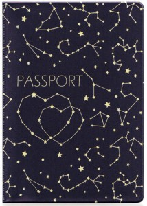 Подарок Обложка для паспорта ZIZ 'Созвездия' (10096)
