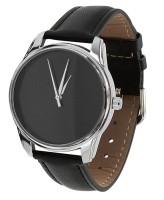 Подарок Часы наручные ZIZ 'Черный минимализм' черный (1400000)