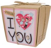 Подарок Печенье с предсказаниями 'I love you'