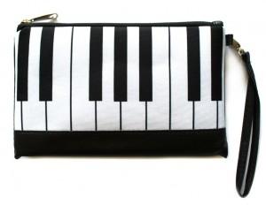 Подарок Клатч ZIZ 'Пианино клавиши' (25149)