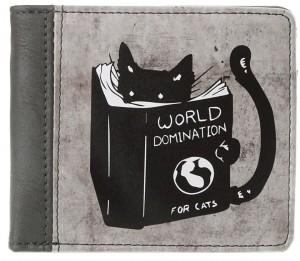 Подарок Кошелек ZIZ 'Доминация кота' (43007)
