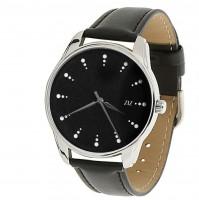 Подарок Часы наручные ZIZ 'Белый сахар' черный (1416601)