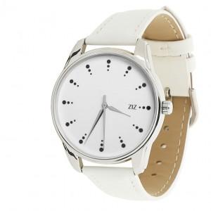 Подарок Часы наручные ZIZ 'Черный сахар' белый (1416502)