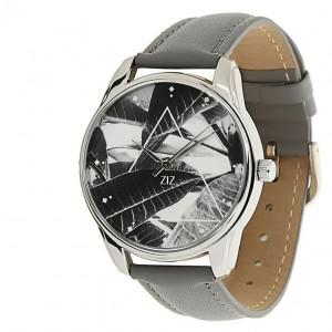 Подарок Часы наручные ZIZ 'Тропический' серый (1415711)