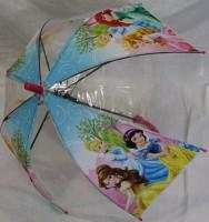 Детский зонт 'Princess' грибком прозрачный