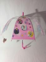Детский зонт 'Princess Frozen' грибком прозрачный