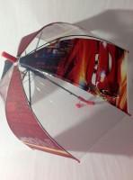 Детский зонт 'Neon cars' грибком прозрачный