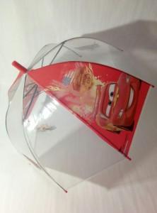 Детский зонт 'Cars Молния' грибком прозрачный