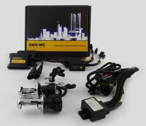Биксенон. Установочный комплект Sho-Me Slim H4 H/L 6000K