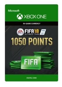 Ключ Xbox live 'FIFA 18 Ultimate Team' 1050 Points (Xbox One)
