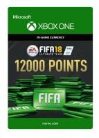 Ключ Xbox live 'FIFA 18 Ultimate Team'  12000 Points (Xbox One)