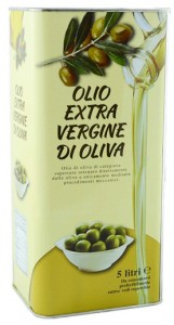 Масло оливковое Olio Extra Vergine di Oliva деликатное (5 л)