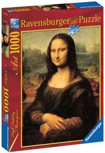 Пазл Ravensburger 'Да Винчи: Мона Лиза' 1000 элементов