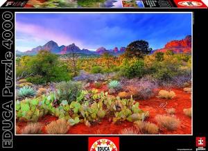Пазл Educa 'Закат в Ред Рокс, Аризона США' 4000 элементов