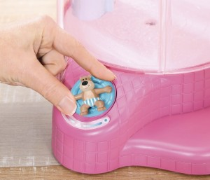 фото Автоматическая душевая кабинка для куклы Zapf Baby Born 'Веселое купание, с аксессуаром' (823583) #3