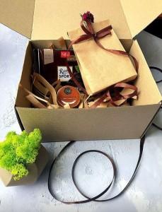 Подарок Подарочный набор 'Coffee Braun'