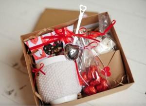 Подарок Подарочный набор 'От сердца к серцу'