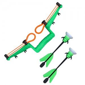 Игровой набор Арбалет ZING '2 стрелы, мишень, зеленый' (AS911G)