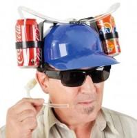 Шлем для пива синий (top-249)