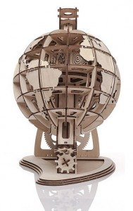 фото Механический конструктор из дерева Mr.Playwood 'Глобус' (10007) #3