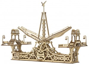 фото Механический конструктор из дерева Mr.Playwood 'Пешеходный мост' (10006) #3