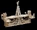 Механический конструктор из дерева Mr.Playwood 'Пешеходный мост' (10006)