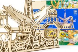 фото Механический конструктор из дерева Mr.Playwood 'Пешеходный мост' (10006) #5