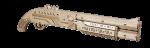 фото Механический конструктор из дерева Mr.Playwood 'Ружье' (10005) #2
